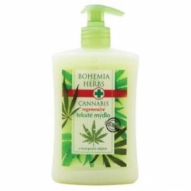 Bohemia Bylinky - konope, konope-krém tekuté mydlo 500 ml
