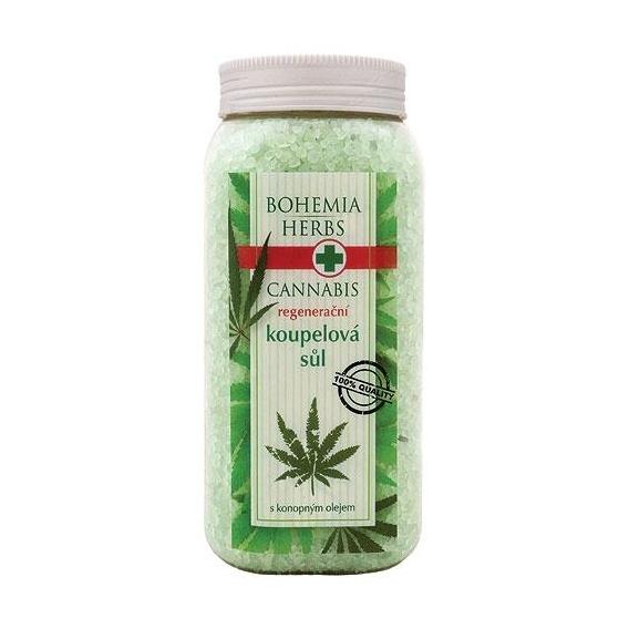 Bohemia Herbs - cannabis - konopná koupelová sůl 900 g