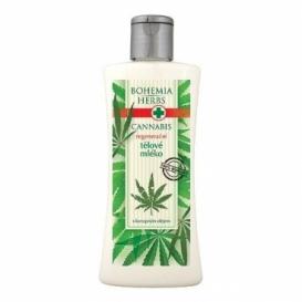 Bohemia Herbs - cannabis - konopné tělové mléko 250 ml