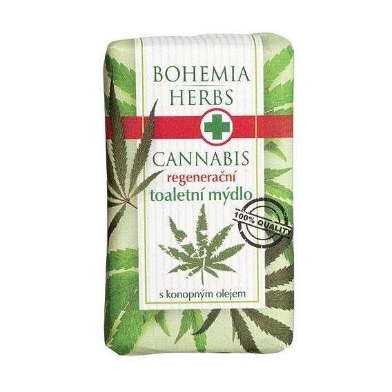 Bohemia Herbs - cannabis - konopné toaletní mýdlo 100 g