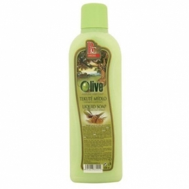 Bohemia Kozmetika krém na tekuté mydlo 1000 ml - náplň - olivový