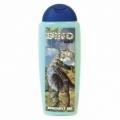 DINO dětský krémový sprchový gel 300 ml - modrý - dinosaurus