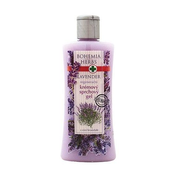 Bohemia Bylinky - levanduľa - krémový sprchovací gél 250 ml