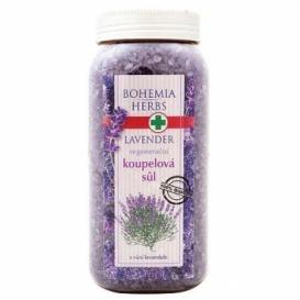 Bohemia Bylinky - levanduľa - kúpeľové soli 900 g