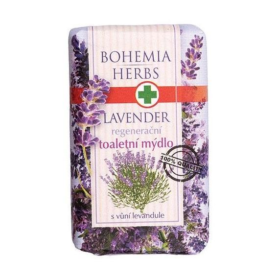 Bohemia Herbs - levandule - toaletní mýdlo 100 g