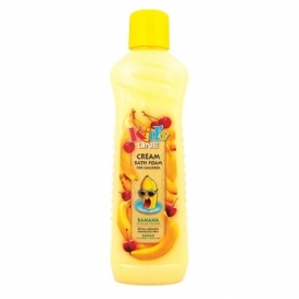 Bohemia Cosmetics - dětská krémová koupelová pěna 1000 ml - banán