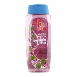 Bohemia Kozmetika - vlasy šampón 300 ml - breza a levandule