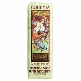 Toaletné mydlo 125 g Mucha Art nouveau - oliva a citrus