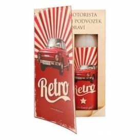 Bohemia Gifts - dárkové balení kosmetiky pro muže - kniha - Retro auto