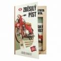 Bohemia Gifts - dárkové balení kosmetiky pro muže - kniha - pro motorkáře