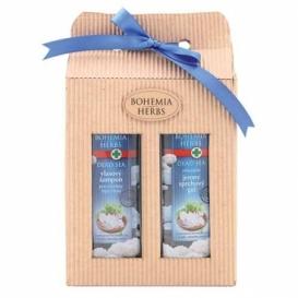 Bohemia Bylín - darčekové balenie kozmetiky z Mŕtveho mora - sprchový gél a šampón vlasy
