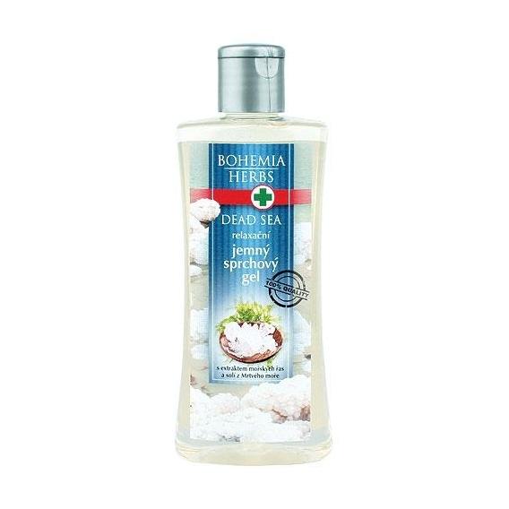 Bohemia Bylinky - sprchový gél 250 ml s soli z Mŕtveho mora