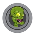 Zombie detská kozmetika 3+