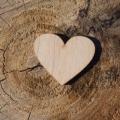 Drevené srdcia